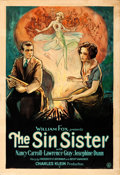"""Movie Posters:Drama, The Sin Sister (Fox, 1929). Folded, Fine+. One Sheet (28"""" X 41"""").. ..."""