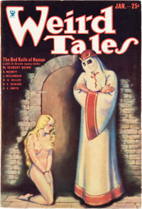 Weird Tales - January 1934 (Popular Fiction) Condition: FN
