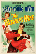 "Movie Posters:Comedy, The Bishop's Wife (RKO, 1948). Fine+ on Linen. One Sheet (27"" X 41"") William Rose Artwork.. ..."