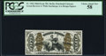 Fractional Currency:Third Issue, Fr. 1366 50¢ Third Issue Justice PCGS Choice About New 58.. ...