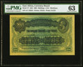 World Currency, East Africa East African Currency Board, Mombasa 200 Shillings or 10 Pounds 15.12.1921 Pick 17 PMG Choice Uncirculated 63....