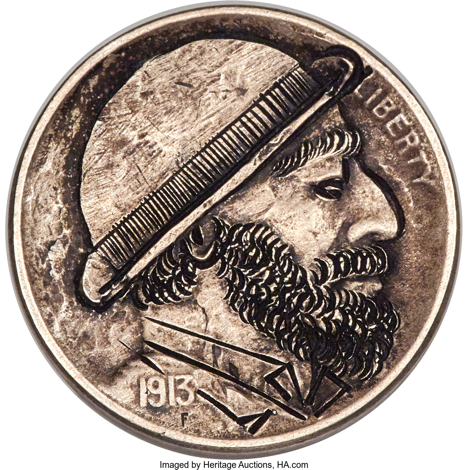 Heritage Auctions Search, Hobo Nickels [51 790 231 351]