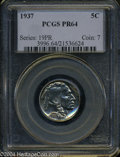 Proof Buffalo Nickels: , 1937 PR 64 PCGS. The current Coin Dealer Newsletter (...