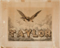 Political:Posters & Broadsides (pre-1896), Zachary Taylor: Iconic Campaign Poster. . ...