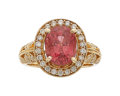 Estate Jewelry:Rings, Spinel, Diamond, Gold Ring. ...