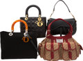 Luxury Accessories:Bags, Christian Dior Set of Four: Lady Dior Tote Bag, Shoulder Bag, Lady Dior Bag & Saddle Shoulder Bag. Condition: 2. See E... (Total: 4 Items)