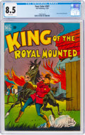 Golden Age (1938-1955):Adventure, Four Color #207 King of the Royal Mounted (Dell, 1948) CGC VF+ 8.5 White pages....