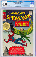 Silver Age (1956-1969):Superhero, The Amazing Spider-Man #7 (Marvel, 1963) CGC FN 6.0 Off-white to white pages....