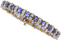 Estate Jewelry:Bracelets, Tanzanite, Diamond, Gold Bracelet . ...