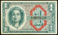 Military Payment Certificates:Series 611, Series 611 $1 Replacement Fine-Very Fine.. ...