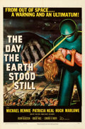 Movie Posters:Science Fiction, The Day the Earth Stood Still (20th Century Fox, 1951). Fo...