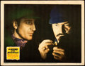 "Movie Posters:Mystery, The Hound of the Baskervilles (20th Century Fox, 1939). Fine/Very Fine. Lobby Card (11"" X 14"").. ..."