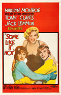 Movie Posters:Comedy, Some Like It Hot (United Artists, 1959). Fine/Very Fine on...