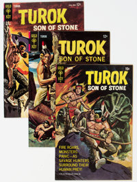 Turok, Son of Stone File Copies Group of 32 (Gold Key, 1962-79) Condition: Average VF+.... (Total: 32 )