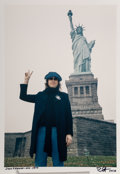Photographs:Chromogenic, Bob Gruen (American, b. 1945). John Lennon, New York City, 1974. Dye coupler, 2007. 11-7/8 x 8-1/4 inches (30.2 x 21.0 c...
