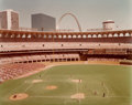 Photographs:Chromogenic, Joel Meyerowitz (American, b. 1938). Busch Memorial Stadium from the series St. Louis and the Arch, 1978. Dye couple...