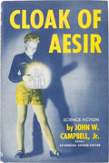 Books:First Editions, John W. Campbell Jr. Cloak of Aesir Signed First Edition (Shasta, 1952)....