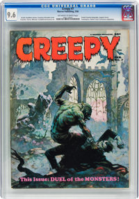 Creepy #7 (Warren, 1966) CGC NM+ 9.6 Off-white to white pages
