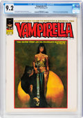 Magazines:Horror, Vampirella #13 (Warren, 1971) CGC NM- 9.2 Off-white to white pages....