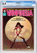 Magazines:Horror, Vampirella #1 (Warren, 1969) CGC FN+ 6.5 White pages....
