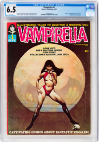Vampirella #1 (Warren, 1969) CGC FN+ 6.5 White pages
