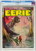 Magazines:Horror, Eerie #5 (Warren, 1966) CGC NM 9.4 Off-white pages....