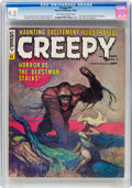 Magazines:Horror, Creepy #11 (Warren, 1966) CGC NM- 9.2 Off-white to white pages....