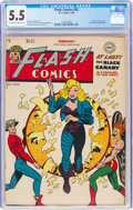 Golden Age (1938-1955):Superhero, Flash Comics #92 (DC, 1948) CGC FN- 5.5 Off-white to white pages....