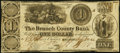 Obsoletes By State:Michigan, Branch, MI- Branch County Bank $1 Sept. 19, 1864 G2 Lee BRA-1-1 Fine.. ...