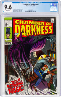 Chamber of Darkness #1 (Marvel, 1969) CGC NM+ 9.6 White pages