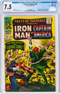 Silver Age (1956-1969):Superhero, Tales of Suspense #80 (Marvel, 1966) CGC VF- 7.5 Off-white to white pages....