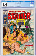 Silver Age (1956-1969):Superhero, The Sub-Mariner #18 (Marvel, 1969) CGC NM 9.4 Off-white to white pages....