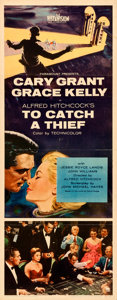 Movie Posters:Hitchcock, To Catch a Thief (Paramount, 1955). Folded, Fine/Very Fine...