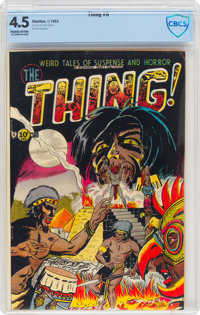 The Thing! #6 (Charlton, 1953) CBCS VG+ 4.5 Slightly brittle pages