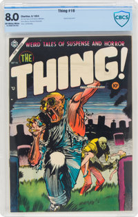 The Thing! #16 (Charlton, 1954) CBCS VF 8.0 Off-white to white pages