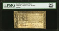 Colonial Notes:Maryland, Maryland March 1, 1770 $8 PMG Very Fine 25.. ...