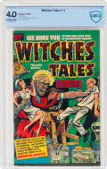 Golden Age (1938-1955):Horror, Witches Tales #11 (Harvey, 1952) CBCS VG 4.0 Off-white to white pages....