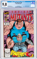 Modern Age (1980-Present):Superhero, The New Mutants #88 (Marvel, 1990) CGC NM/MT 9.8 White pages....
