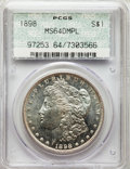 1898 $1 MS64 Deep Mirror Prooflike PCGS. PCGS Population: (162/84). NGC Census: (105/34). CDN: $360 Whsle. Bid for probl...