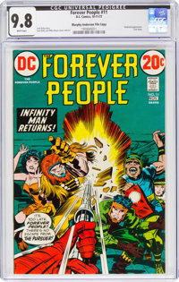 The Forever People #11 Murphy Anderson File Copy (DC, 1972) CGC NM/MT 9.8 White pages