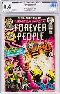 The Forever People #6 Murphy Anderson File Copy (DC, 1971) CGC NM 9.4 White pages