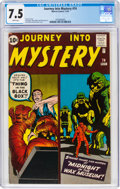 Silver Age (1956-1969):Horror, Journey Into Mystery #74 (Marvel, 1961) CGC VF- 7.5 White pages....