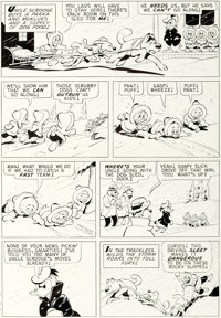 Carl Barks Uncle Scrooge #59 Story Page 14 Original Art (Gold Key, 1965)