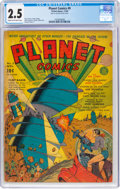 Golden Age (1938-1955):Science Fiction, Planet Comics #9 (Fiction House, 1940) CGC GD+ 2.5 Cream to off-white pages....