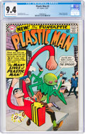 Silver Age (1956-1969):Superhero, Plastic Man #2 (DC, 1967) CGC NM 9.4 Off-white to white pages....