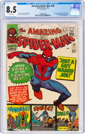 Silver Age (1956-1969):Superhero, The Amazing Spider-Man #38 (Marvel, 1966) CGC VF+ 8.5 White pages....
