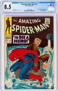 Silver Age (1956-1969):Superhero, The Amazing Spider-Man #52 (Marvel, 1967) CGC VF+ 8.5 Off-white to white pages....