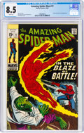 Silver Age (1956-1969):Superhero, The Amazing Spider-Man #77 (Marvel, 1969) CGC VF+ 8.5 White pages....