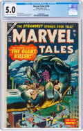Golden Age (1938-1955):Horror, Marvel Tales #130 (Atlas, 1955) CGC VG/FN 5.0 Off-white to white pages....