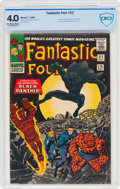 Silver Age (1956-1969):Superhero, Fantastic Four #52 (Marvel, 1966) CBCS VG 4.0 Off-white to white pages....